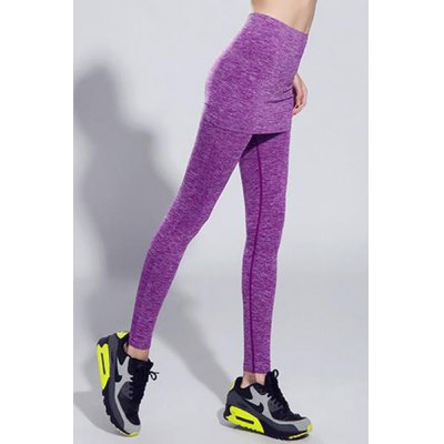 Active Elastic Waist Slimming Faux Twinset Ninth Gym Pants For WomenYoga<br>Active Elastic Waist Slimming Faux Twinset Ninth Gym Pants For Women<br><br>Style: Active<br>Length: Ninth<br>Material: Polyester<br>Fit Type: Skinny<br>Waist Type: Mid<br>Closure Type: Elastic Waist<br>Pattern Type: Solid<br>Pant Style: Pencil Pants<br>Weight: 0.278KG<br>Package Contents: 1 x Pants