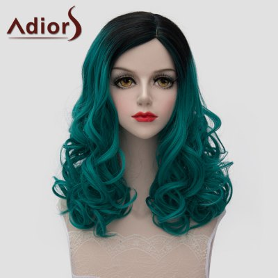 Medium Fluffy Wavy Synthetic Lolita Universal Wig