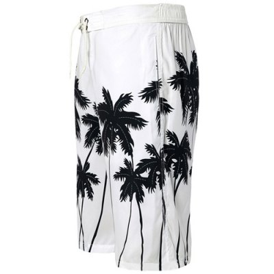 Straight Leg Drawstring Coconut Palm Print Mens Board ShortsMens Shorts<br>Straight Leg Drawstring Coconut Palm Print Mens Board Shorts<br><br>Style: Casual<br>Length: Knee-Length<br>Material: Polyester<br>Fit Type: Regular<br>Waist Type: Low<br>Closure Type: Drawstring<br>Front Style: Flat<br>Weight: 0.169kg<br>Package Contents: 1 x Shorts