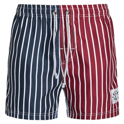 Straight Leg Drawstring Board Shorts