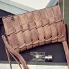 cheap Fashion PU Leather and Solid Color Design Clutch Bag For Women