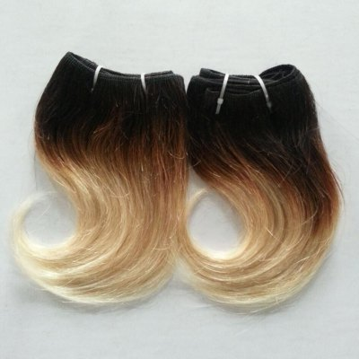 Fashion Ombre Human Hair Extension For Women
