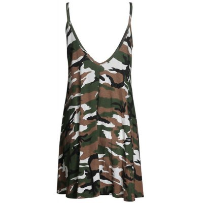 Stylish Spaghetti Strap Camouflage Pattern Sundress For WomenWomens Dresses<br>Stylish Spaghetti Strap Camouflage Pattern Sundress For Women<br><br>Style: Brief<br>Material: Polyester<br>Silhouette: A-Line<br>Dresses Length: Mini<br>Neckline: Spaghetti Strap<br>Sleeve Length: Sleeveless<br>Pattern Type: Print<br>With Belt: No<br>Season: Summer<br>Weight: 0.180KG<br>Package Contents: 1 x Sundress