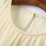Sweet Round Neck Open Back Tank Top For Women deal