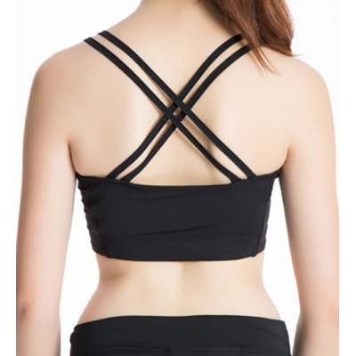 Stylish U Neck Strap Yoga Tank Top For WomenYoga<br>Stylish U Neck Strap Yoga Tank Top For Women<br><br>Material: Polyester,Spandex<br>Clothing Length: Crop Top<br>Sleeve Length: Sleeveless<br>Collar: U Neck<br>Pattern Type: Solid<br>Weight: 0.270KG<br>Package Contents: 1 x Tank Top