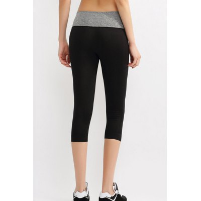 Active Elastic Waist Hit Color Bodycon Womens Cropped Yoga PantsYoga<br>Active Elastic Waist Hit Color Bodycon Womens Cropped Yoga Pants<br><br>Style: Active<br>Length: Capri<br>Material: Polyester<br>Fit Type: Skinny<br>Waist Type: High<br>Closure Type: Elastic Waist<br>Pattern Type: Patchwork<br>Pant Style: Pencil Pants<br>Weight: 0.200KG<br>Package Contents: 1 x Cropped Yoga Pants