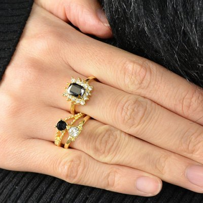 A Suit of Delicate Faux Crystal Decorated Rings For WomenRings<br>A Suit of Delicate Faux Crystal Decorated Rings For Women<br><br>Gender: For Women<br>Material: Crystal<br>Metal Type: Alloy<br>Style: Trendy<br>Shape/Pattern: Geometric<br>Diameter: 1.7CM<br>Weight: 0.040KG<br>Package Contents: 1 x Ring(Suit)