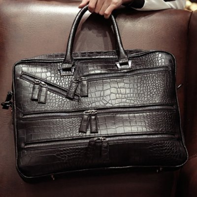 Stylish Crocodile Print and Zips Design Briefcase For MenMens Bags<br>Stylish Crocodile Print and Zips Design Briefcase For Men<br><br>Gender: For Men<br>Style: Fashion<br>Closure Type: Zipper<br>Pattern Type: Solid<br>Height: 31CM<br>Length: 41CM<br>Width: 9CM<br>Main Material: PU<br>Weight: 1.615KG<br>Package Contents: 1 x Briefcase