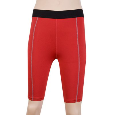 Fitted Solid Color Quick-Dry Womens Gym Cropped PantsYoga<br>Fitted Solid Color Quick-Dry Womens Gym Cropped Pants<br><br>Length: Knee-Length<br>Material: Polyester<br>Fit Type: Skinny<br>Waist Type: Mid<br>Closure Type: Elastic Waist<br>Pattern Type: Solid<br>Weight: 0.370KG<br>Package Contents: 1 x Cropped Pants