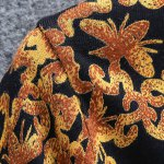 Long Sleeves Round Collar Pullover Chinese Style Printing Sweater For Men for sale