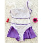 cheap Stylish Spaghetti Strap Lace Spliced Girl's Cover Up