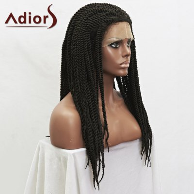Trendy Natural Black Synthetic Handmade Fluffy Long Braided Lace Front Wig For WomenMixed Hair Wigs<br>Trendy Natural Black Synthetic Handmade Fluffy Long Braided Lace Front Wig For Women<br><br>Type: Full Wigs<br>Cap Construction: Lace Front<br>Style: Braid Hair<br>Cap Size: Average<br>Material: Synthetic Hair<br>Bang Type: None<br>Length: Long<br>Lace Wigs Type: Lace Front Wigs<br>Density: 150%<br>Length Size(Inch): 22<br>Weight: 0.520KG<br>Package Contents: 1 x Wig