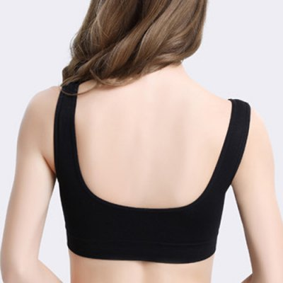 Sporty Style V Neck Push Up Solid Color Moulded Sports Bra For WomenYoga<br>Sporty Style V Neck Push Up Solid Color Moulded Sports Bra For Women<br><br>Materials: Polyester<br>Bra Style: Seamless<br>Cup Shape: Full Cup<br>Support Type: Wire Free<br>Strap Type: Non-Convertible Straps<br>Closure Style: Back Closure<br>Pattern Type: Solid<br>Embellishment: None<br>Weight: 0.170KG<br>Package Contents: 1 x Sports Bra