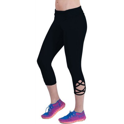 Chic High Stretchy Solid Color Hollow Out Bodycon Womens Cropped Yoga PantsYoga<br>Chic High Stretchy Solid Color Hollow Out Bodycon Womens Cropped Yoga Pants<br><br>Style: Active<br>Length: Capri<br>Material: Polyester<br>Fit Type: Skinny<br>Waist Type: High<br>Closure Type: Elastic Waist<br>Pattern Type: Solid<br>Pant Style: Pencil Pants<br>Weight: 0.320KG<br>Package Contents: 1 x Pants