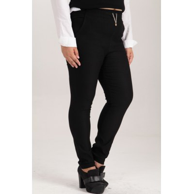 Fashionable High-Waisted Plus Size Pants For WomenYoga<br>Fashionable High-Waisted Plus Size Pants For Women<br><br>Style: Fashion<br>Length: Normal<br>Material: Cotton,Polyester<br>Fit Type: Skinny<br>Waist Type: High<br>Closure Type: Elastic Waist<br>Pattern Type: Solid<br>Pant Style: Pencil Pants<br>Weight: 0.470KG<br>Package Contents: 1 x Pants