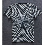 cheap Black And White T Shirt for Men