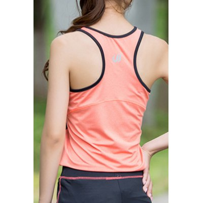Womens Active Elastic Color Block Sport Racer Tank TopYoga<br>Womens Active Elastic Color Block Sport Racer Tank Top<br><br>Material: Polyester<br>Clothing Length: Regular<br>Sleeve Length: Sleeveless<br>Collar: Scoop Neck<br>Pattern Type: Patchwork<br>Weight: 0.270KG<br>Package Contents: 1 x Tank Top