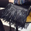 cheap Stylish Metal and Fringe Design Crossbody Bag For Women