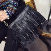 Stylish Metal and Fringe Design Crossbody Bag For Women deal