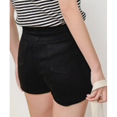 Stylish High Waist Solid Color Shorts For WomenShorts<br>Stylish High Waist Solid Color Shorts For Women<br><br>Style: Fashion<br>Length: Mini<br>Material: Polyester<br>Fit Type: Regular<br>Waist Type: High<br>Closure Type: Zipper Fly<br>Front Style: Flat<br>Pattern Type: Solid<br>Weight: 0.126kg<br>Package Contents: 1 x Shorts