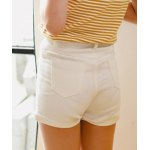 cheap Stylish High Waist Solid Color Shorts For Women