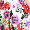 Fashionable Spaghetii Strap Floral Print Dress For Girl photo