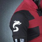 Turn-Down Collar Color Block Rib Splicing Short Sleeve Men's Polo T-Shirt deal