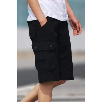 Straight Leg Solid Color Multi Stereo Patch Pockets Zipper Fly Mens ShortsMens Shorts<br>Straight Leg Solid Color Multi Stereo Patch Pockets Zipper Fly Mens Shorts<br><br>Style: Casual<br>Length: Knee-Length<br>Material: Cotton Blends<br>Fit Type: Loose<br>Waist Type: Mid<br>Closure Type: Zipper Fly<br>Front Style: Flat<br>With Belt: No<br>Weight: 0.550KG<br>Package Contents: 1 x Shorts