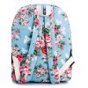 Sweet Floral Print and Canvas Design Satchel For Women photo