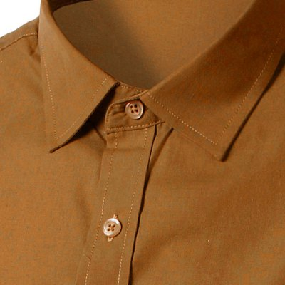 Simple Shirt Collar Solid Color Slimming Short Sleeves Shirt For MenMens Shirts<br>Simple Shirt Collar Solid Color Slimming Short Sleeves Shirt For Men<br><br>Shirts Type: Casual Shirts<br>Material: Cotton Blends<br>Sleeve Length: Short<br>Collar: Turn-down Collar<br>Weight: 0.450KG<br>Package Contents: 1 x Shirt
