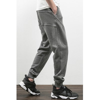 Lace-Up Low-Slung Crotch Beam Feet Linellae Design Pants For MenMens Pants<br>Lace-Up Low-Slung Crotch Beam Feet Linellae Design Pants For Men<br><br>Material: Cotton,Polyester<br>Pant Length: Long Pants<br>Wash: Medium<br>Fit Type: Loose<br>Waist Type: Mid<br>Closure Type: Drawstring<br>Weight: 0.750KG<br>Pant Style: Harem Pants<br>Package Contents: 1 x Jeans