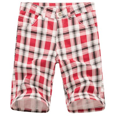 Straight Leg Plaid Printed  Zipper Fly Mens ShortsMens Shorts<br>Straight Leg Plaid Printed  Zipper Fly Mens Shorts<br><br>Style: Casual<br>Length: Knee-Length<br>Material: Cotton Blends<br>Fit Type: Regular<br>Waist Type: Mid<br>Closure Type: Zipper Fly<br>Front Style: Flat<br>With Belt: No<br>Weight: 0.550KG<br>Package Contents: 1 x Shorts