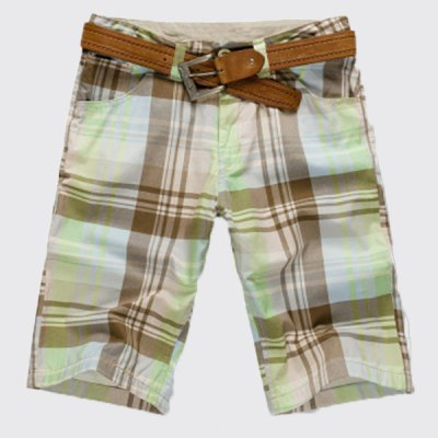 Stylish Straight Leg Plaid Printing Zipper Fly Men's Shorts от GearBest.com INT