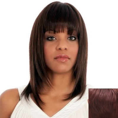 Fashion Medium Capless Noble Full Bang Straight Human Hair Wig For WomenHuman Hair Wigs<br>Fashion Medium Capless Noble Full Bang Straight Human Hair Wig For Women<br><br>Type: Full Wigs<br>Cap Construction: Capless<br>Style: Straight<br>Cap Size: Average<br>Material: Human Hair<br>Bang Type: Full<br>Length: Medium<br>Occasion: Daily<br>Density: 130%<br>Length Size(CM): 53<br>Weight: 0.200KG<br>Package Contents: 1 x Wig