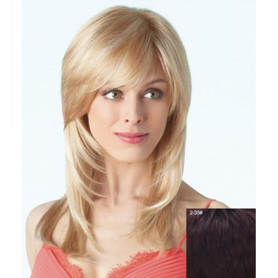Stylish Long Layered Side Bang Fluffy Natural Straight Capless Human Hair Wig For WomenHuman Hair Wigs<br>Stylish Long Layered Side Bang Fluffy Natural Straight Capless Human Hair Wig For Women<br><br>Type: Full Wigs<br>Cap Construction: Capless<br>Style: Straight<br>Cap Size: Average<br>Material: Human Hair<br>Bang Type: Side<br>Length: Long<br>Occasion: Daily<br>Density: 130%<br>Length Size(CM): 62<br>Weight: 0.210KG<br>Package Contents: 1 x Wig