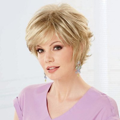 Womens Curly Trendy Fluffy Side Bang Short Human Hair WigHuman Hair Wigs<br>Womens Curly Trendy Fluffy Side Bang Short Human Hair Wig<br><br>Type: Full Wigs<br>Style: Curly<br>Material: Human Hair<br>Bang Type: Side<br>Length: Short<br>Density: 130%<br>Length Size(CM): 16<br>Weight: 0.160KG<br>Package Contents: 1 x Wig