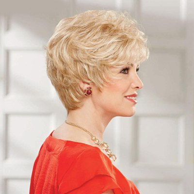 Womens Fluffy Curly Trendy Side Bang Short Human Hair WigHuman Hair Wigs<br>Womens Fluffy Curly Trendy Side Bang Short Human Hair Wig<br><br>Type: Full Wigs<br>Style: Curly<br>Material: Human Hair<br>Bang Type: Side<br>Length: Short<br>Density: 130%<br>Length Size(CM): 15<br>Weight: 0.150KG<br>Package Contents: 1 x Wig