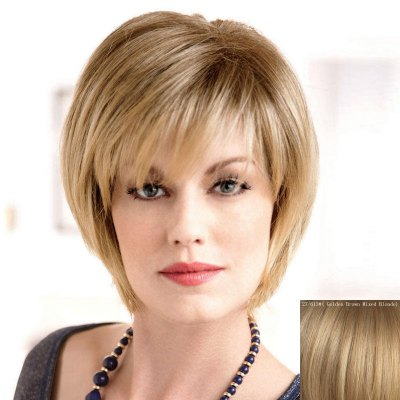 Womens Fluffy Trendy Side Bang Short Human Hair WigHuman Hair Wigs<br>Womens Fluffy Trendy Side Bang Short Human Hair Wig<br><br>Type: Full Wigs<br>Style: Straight<br>Material: Human Hair<br>Bang Type: Side<br>Length: Short<br>Density: 130%<br>Length Size(CM): 16<br>Weight: 0.160KG<br>Package Contents: 1 x Wig