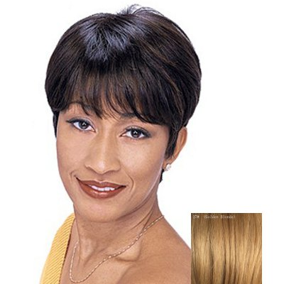 Capless Human Hair Shaggy Ultrashort Wig For WomenHuman Hair Wigs<br>Capless Human Hair Shaggy Ultrashort Wig For Women<br><br>Type: Full Wigs<br>Style: Straight<br>Material: Human Hair<br>Bang Type: Side<br>Length: Short<br>Density: 130%<br>Length Size(CM): 14<br>Weight: 0.150KG<br>Package Contents: 1 x Wig
