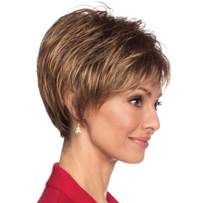 Capless Human Hair Fluffy Ultrashort Wig For WomenHuman Hair Wigs<br>Capless Human Hair Fluffy Ultrashort Wig For Women<br><br>Type: Full Wigs<br>Style: Straight<br>Material: Human Hair<br>Bang Type: Side<br>Length: Short<br>Density: 130%<br>Length Size(CM): 15<br>Weight: 0.160KG<br>Package Contents: 1 x Wig