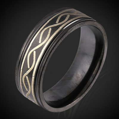 Chic Alloy Circular Ring For Men