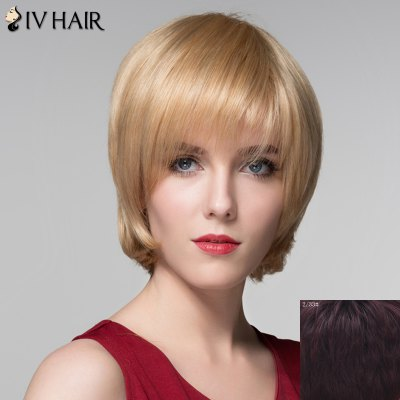 Attractive Straight Capless Vogue Short Side Bang Real Natural Hair Wig For WomenHuman Hair Wigs<br>Attractive Straight Capless Vogue Short Side Bang Real Natural Hair Wig For Women<br><br>Type: Full Wigs<br>Cap Construction: Capless<br>Style: Straight<br>Cap Size: Average<br>Material: Human Hair<br>Bang Type: Side<br>Length: Short<br>Occasion: Daily<br>Density: 130%<br>Length Size(CM): 14<br>Weight: 0.150KG<br>Package Contents: 1 x Wig