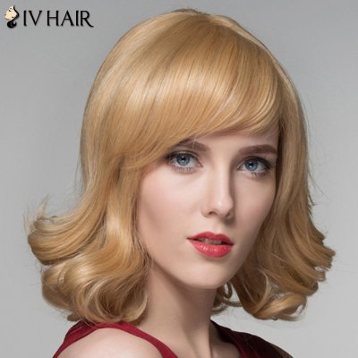 Towheaded Wavy Capless Stylish Medium Side Bang Real Natural Hair Wig For WomenHuman Hair Wigs<br>Towheaded Wavy Capless Stylish Medium Side Bang Real Natural Hair Wig For Women<br><br>Type: Full Wigs<br>Cap Construction: Capless<br>Style: Wavy<br>Cap Size: Average<br>Material: Human Hair<br>Bang Type: Side<br>Length: Medium<br>Occasion: Daily<br>Density: 130%<br>Length Size(CM): 34<br>Weight: 0.220KG<br>Package Contents: 1 x Wig