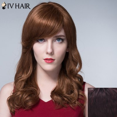 Attractive Long Capless Shaggy Wavy Side Bang 100 Percent Human Hair Wig For WomenHuman Hair Wigs<br>Attractive Long Capless Shaggy Wavy Side Bang 100 Percent Human Hair Wig For Women<br><br>Type: Full Wigs<br>Cap Construction: Capless<br>Style: Wavy<br>Cap Size: Average<br>Material: Human Hair<br>Bang Type: Side<br>Length: Long<br>Occasion: Daily<br>Density: 130%<br>Length Size(CM): 58<br>Weight: 0.210KG<br>Package Contents: 1 x Wig