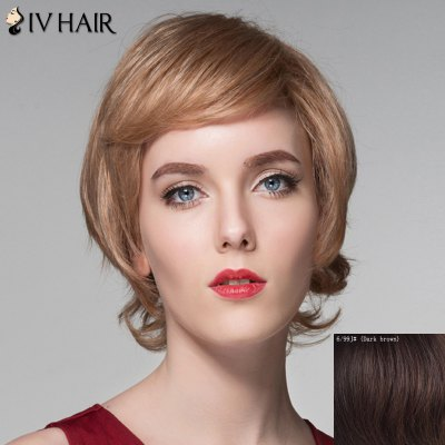Assorted Color Side Bang Capless Spiffy Short Fluffy Wavy Human Hair Wig For WomenHuman Hair Wigs<br>Assorted Color Side Bang Capless Spiffy Short Fluffy Wavy Human Hair Wig For Women<br><br>Type: Full Wigs<br>Cap Construction: Capless<br>Style: Wavy<br>Cap Size: Average<br>Material: Human Hair<br>Bang Type: Side<br>Length: Short<br>Occasion: Daily<br>Density: 130%<br>Length Size(CM): 16<br>Weight: 0.150KG<br>Package Contents: 1 x Wig