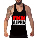 Buy Sports Loose Fit Round Neck Letters Print Tank Top Men M