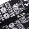 best Ethnic Style Elephant Print and Black Design Shoulder Bag For Women