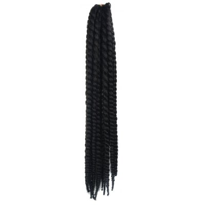 Stunning Long Kanekalon Synthetic Dreadlock Braided Hair Extension For Women