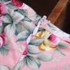 Cute Round Neck Sleeveless Floral Print Princess Dress For Girl photo