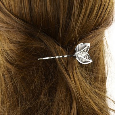 Stylish Hollow Out Leaf Hairpin For WomenHair Accessories<br>Stylish Hollow Out Leaf Hairpin For Women<br><br>Headwear Type: Hairpins<br>Group: Adult<br>Gender: For Women<br>Style: Fashion<br>Pattern Type: Plant<br>Weight: 0.040KG<br>Package Contents: 1 x Hairpin